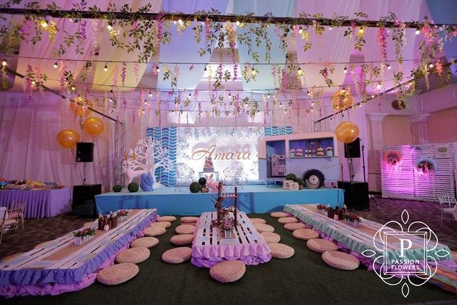 Amara's The Road Less Traveled Nature Inspired Party - Stage