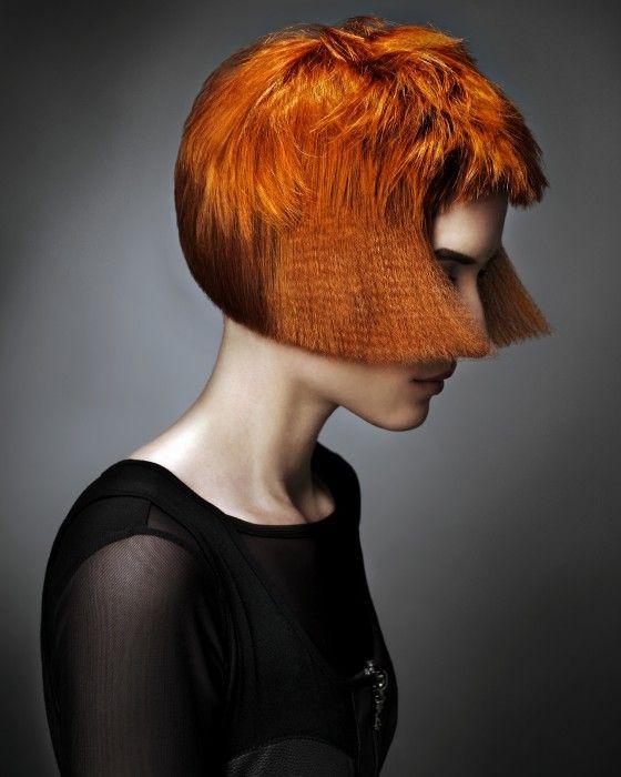 Trevor Sorbie Short red Hairstyles