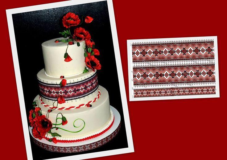Un model, de imprimeu, special cautat pentru dna. Rodica Ieremia, un tort pe care abia asteptam sa il vedem. Cum putea sa fie? Minunat, perfect pana la ultimul detaliu :) florile, gargaritele, imbracatul suportului si totul.  #printaripecolidinpastadezahar #tortmotivpopular https://decoratiunidulci.ro/folcloric  SURSA: https://www.facebook.com/photo.php?fbid=680655565369339&set=a.593996060701957.1073741848.100002747051787&type=1&theater