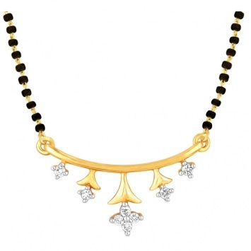 star #diamond #gold #mangalsutra