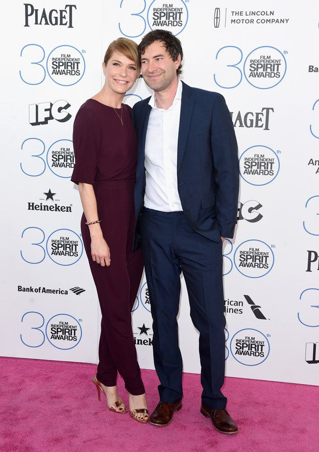 Katie Aselton and Mark Duplass | All The Looks From The 2015 Independent Spirit Awards