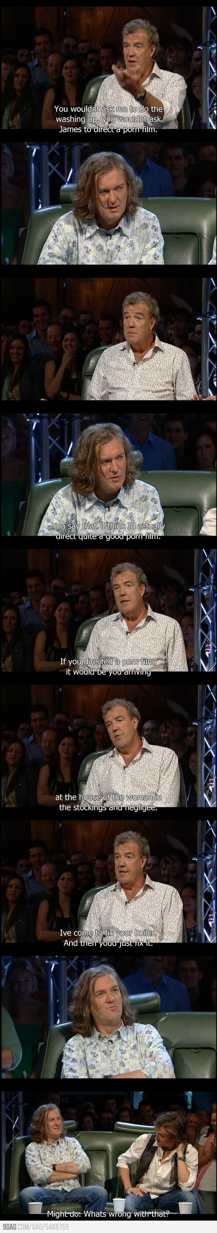Good Guy James. Top Gear.