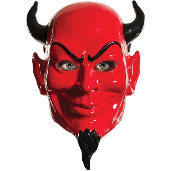 Rubie's Women's Scream Queens Devil 1/2 Mask ($10) ❤ liked on Polyvore featuring costumes, filler, fillers - red, womens halloween costumes, lady halloween costumes, rubies costumes, red devil costume and lady costumes