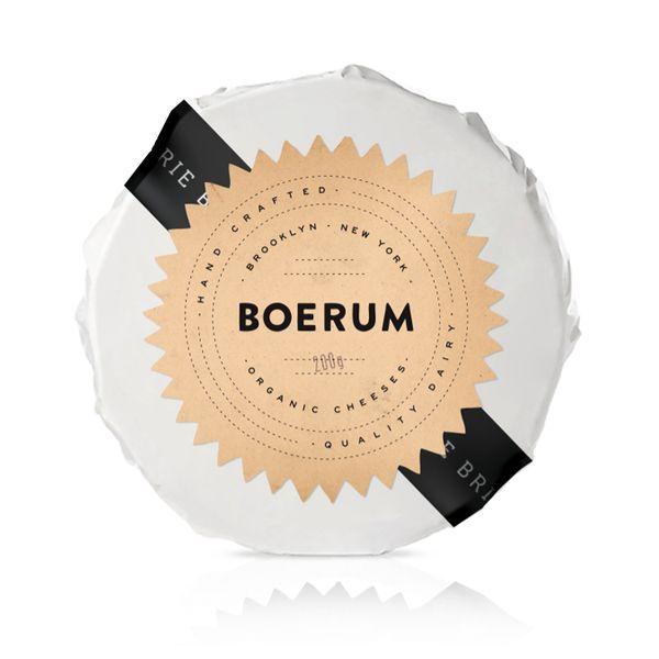cheese packaging. BOERUM - Package Design by Rory Hales, via Behance