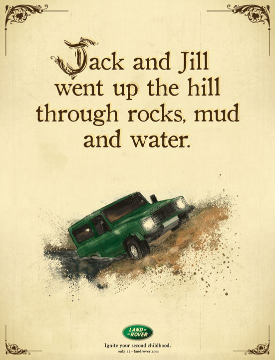 Ignite your second childhood #LandRover