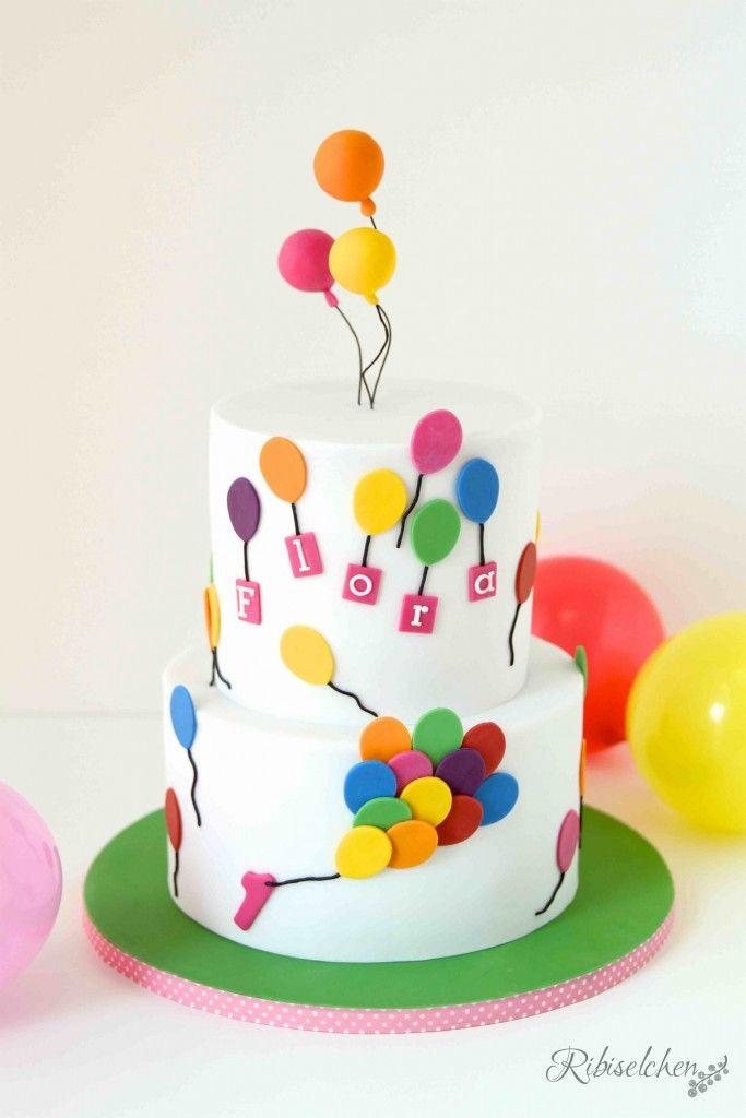 Balloon cake - Luftballontorte