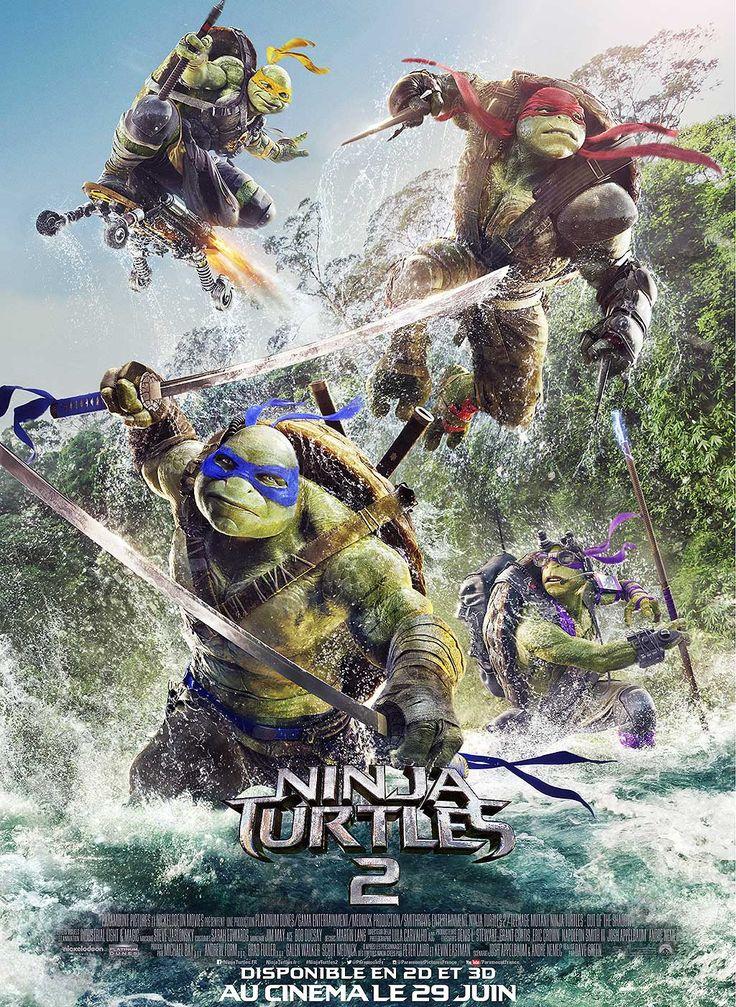 Ninja Turtles 2 , Film de Dave Green avec Megan Fox, Stephen Amell, Alan Ritchson, Noel Fisher, Brian Tee. Les Ninja Turtles s'apprêtent à défier Shredder