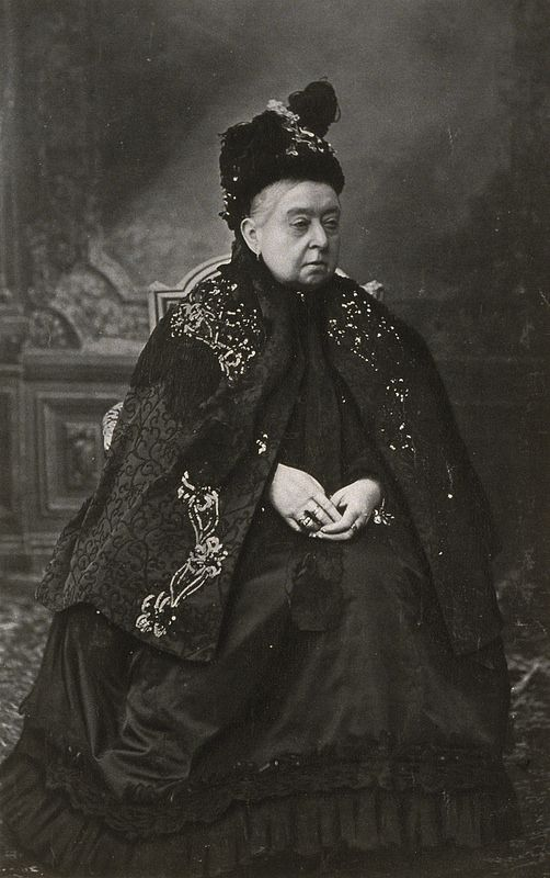 1900. The Last Portrait of Queen Victoria by the lost gallery.  Grandfather would have been six when she died in January 1901.