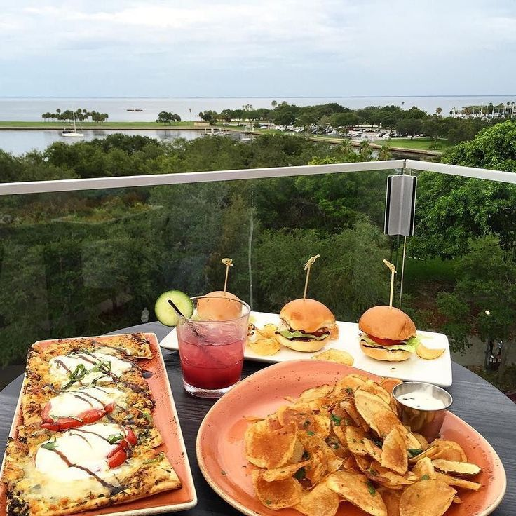 The Canopy Rooftop Bar | St. Petersburg FL | Boutique Hotel Fine Dining Restaurant & Rooftop Lounge | Rooftop eats in Downtown St. Pete   IG travelflorida