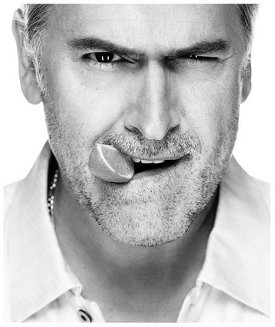 Bruce Campbell by Nigel Parry