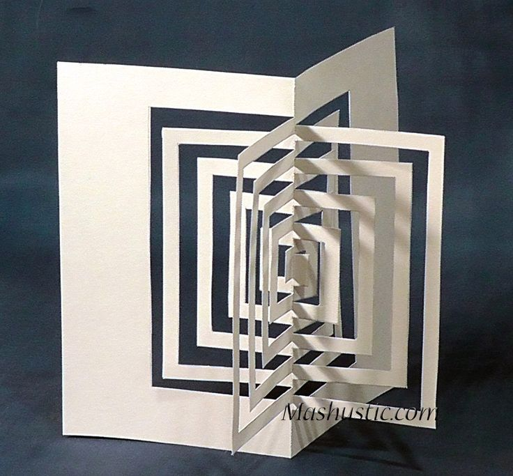 Best 25 geometric shapes ideas on pinterest geometric for Kirigami paper art