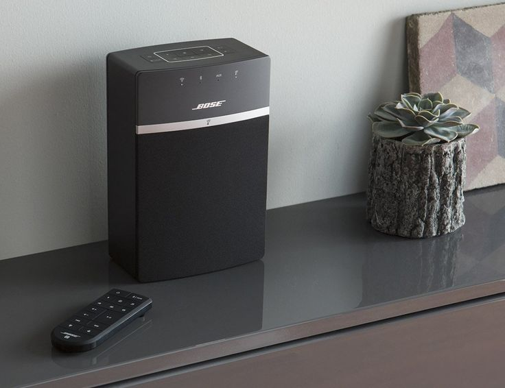 Put the power of Bose throughout your home with the SoundTouch 10 wireless music system.