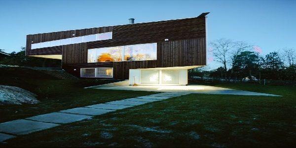 Triangular House Design Found in Norway