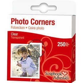 #Foto hoeken, 10 mm, 250 stuks, helder