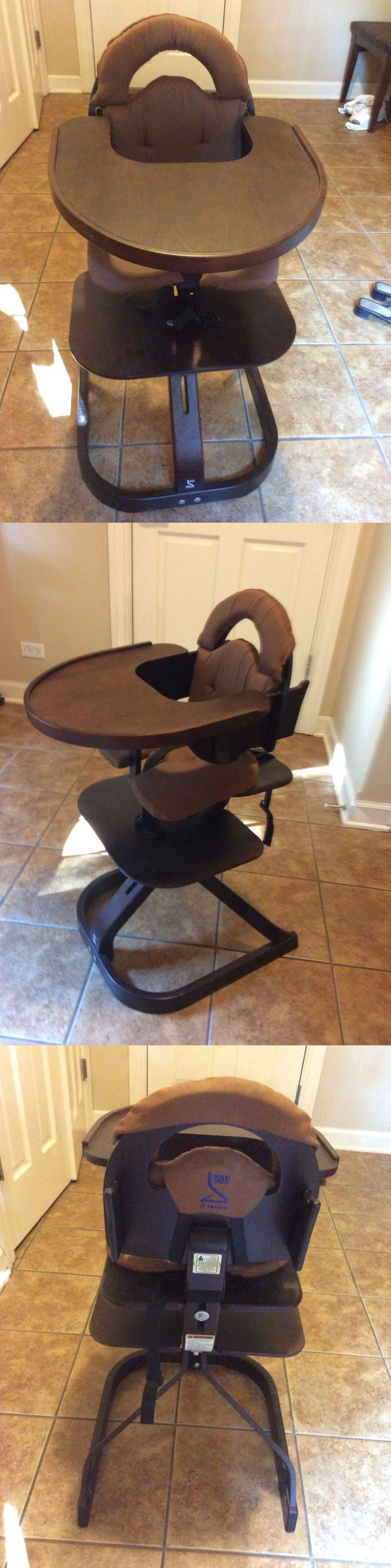 High Chairs 2986: Svan Sweden Wooden Baby High Chair New Without Tags -> BUY IT NOW ONLY: $149 on eBay!