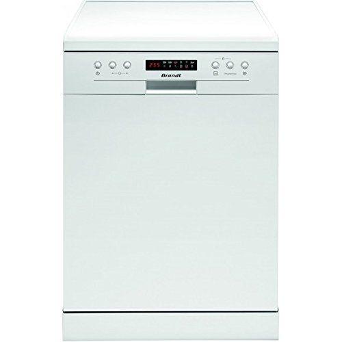 Brandt DFH13117W lave-vaisselle – lave-vaisselles (Autonome, A, A++, Blanc, boutons): Brandt DFH13117W. Type: Autonome Couleur: Blanc Type…