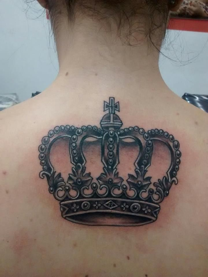 28 best images about neck on pinterest lion tattoo for Pictures of crown tattoos