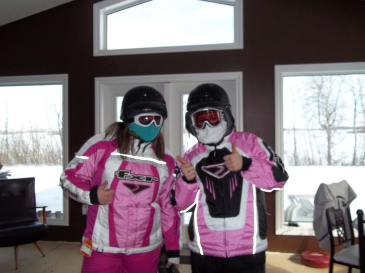 Ready to go snowmobiling at Lucien Lake #lucienlake #snowmobiling #winterfun #winteratthelake