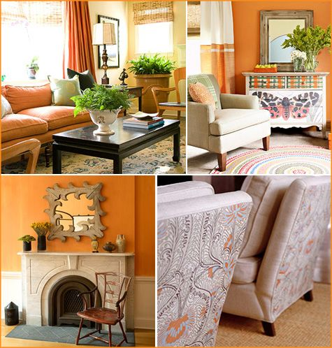 17 Best Images About Orange Home Decor On Pinterest