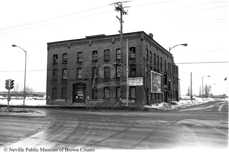 Businesses Historic buildings, Green bay wisconsin, Old