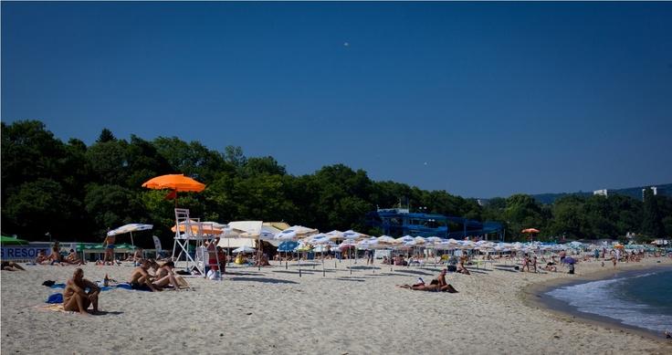 Varna Beaches. Bulgaria. Black Sea