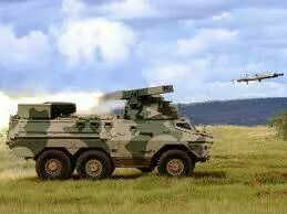 Laser guided ZT3 Ratel anti tank