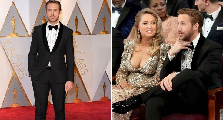 Ryan Gosling asistió a los Oscar con una chica misteriosa. Ya sabemos quién es y te queremos contar