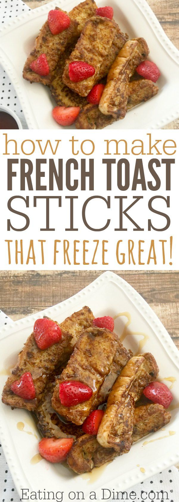 French Toast Sticks recipe is easy to make and the entire family loves it. I know you are going to love this Simple french toast recipe. It is one of my favorite breakfast ideas.