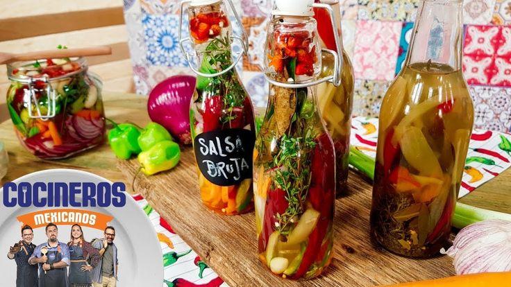 Receta: Salsa bruja | Cocineros Mexicanos - YouTube