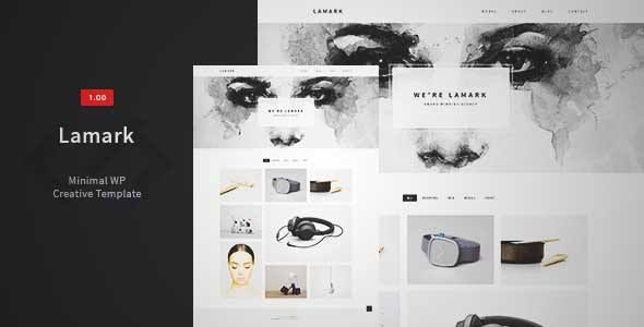 Download and review of Lamark - Minimal Agency Portfolio Theme, one of the best Themeforest Creatives themes