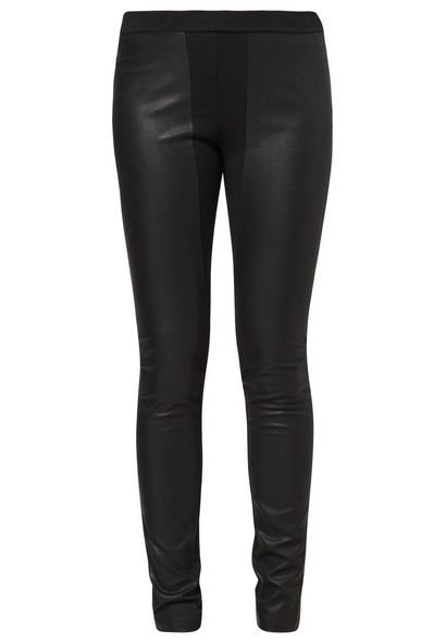 Leather leggins / skórzane leginsy - Zalando
