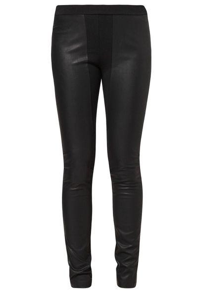 Leather leggins / skórzane leginsy - Zalando