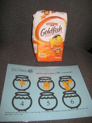 Goldfish counting: Seuss Activities, Idea, Fish Interactive, Interactive Printable, Dr Suess, Dr. Seuss, Printable Placemat, Dr Seuss, Kid
