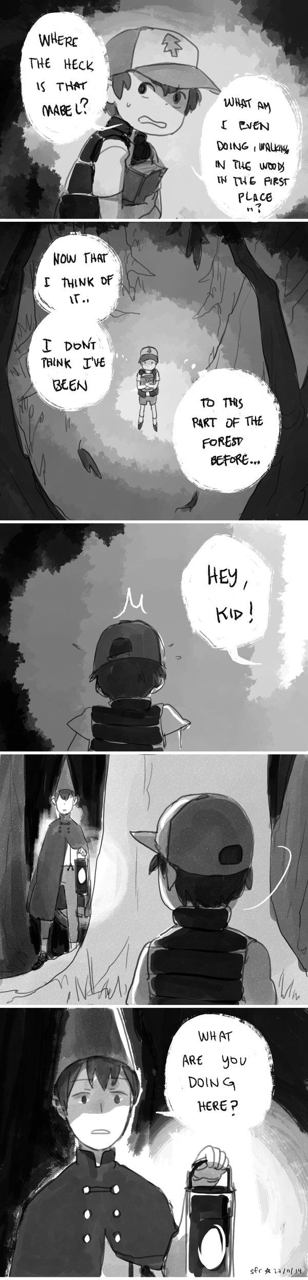 Over the Garden Wall Au - Garden Falls Chapter 1 宇宙艦隊RAMB -- EVERYONE NEEDS TO GO AND READ THIS RIGHT NOW NO FUCKING EXCUSES GO