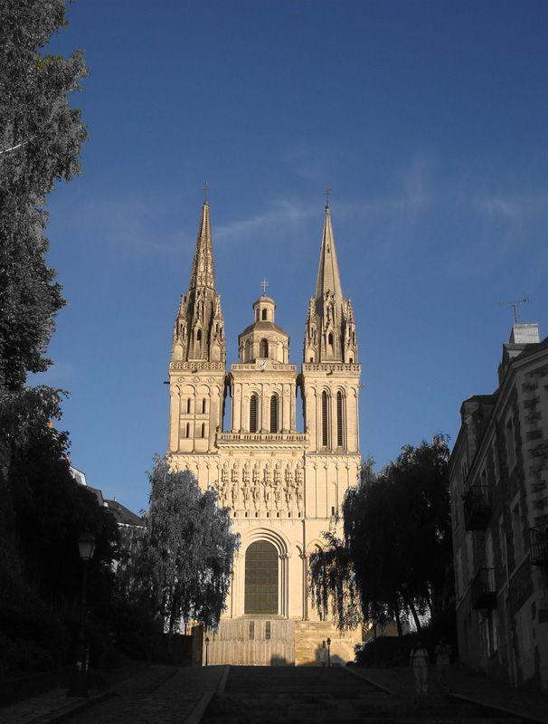 La Cathédrale Saint-Maurice à Angers.