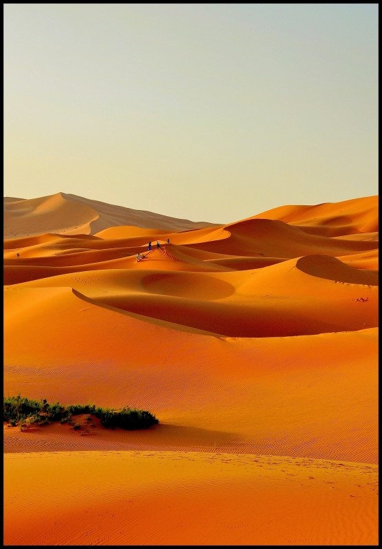 Erg Chebbiduinen - Marokko