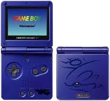 Kyogre Pokemon Game Boy Advance SP
