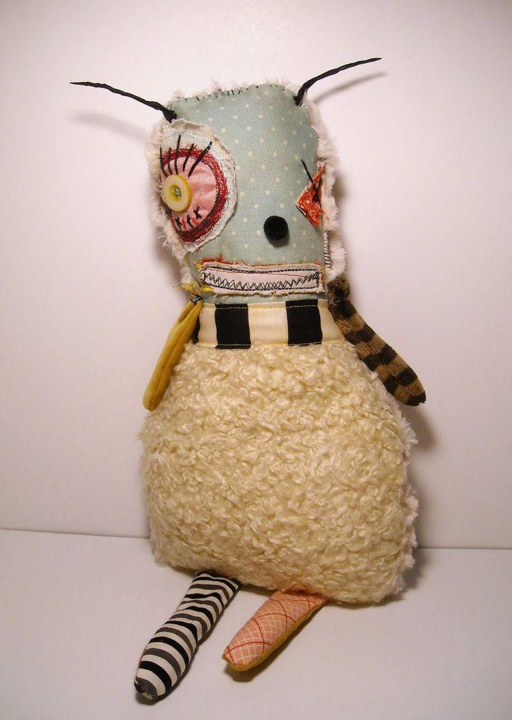 Monster Gemma | Art Doll by Junker Jane