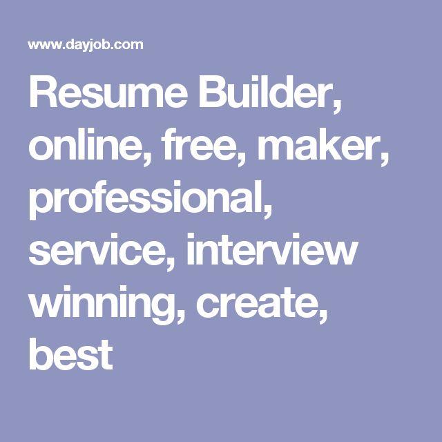 17 best ideas about resume builder on pinterest resume helper resume and cv tips - Michigan Works Resume Builder
