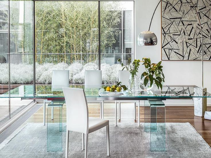 76 Best Contemporary Dining Tables Images On Pinterest Classy Italian Glass Dining Room Tables Design Inspiration