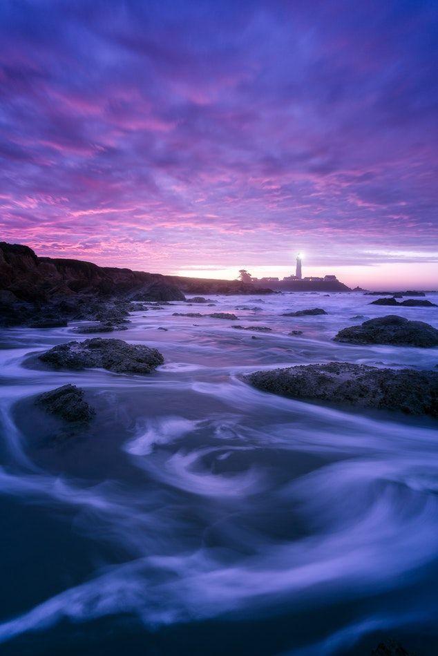 Amazing Pictures Unbelievable Nature Pigeon Point Sunrise Sunrise Landscapes Seascapes Pu Ocean Pictures Landscape Photography Landscape Photography Tips
