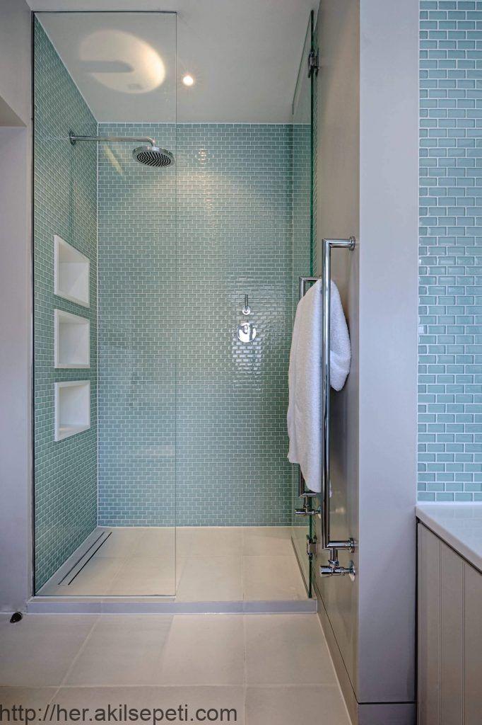 Mit diesen Duschfliesen Ideen möchten Sie Ihr Badezimmer ...
