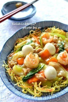 ◆中華あんかけ焼きそば◆ by 食いしんぼうず [クックパッド] 簡単 ...