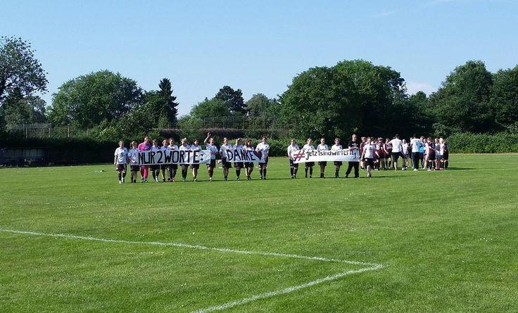 FC St. Pauli 1. Frauen bedankt sich bei den Fans