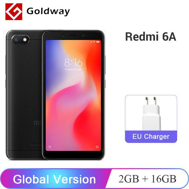 Global Version Xiaomi Redmi 6a 6 A 2gb 16gb Smartphone Helio A22 Quad Core 5 4513 0mp Camera 3000mah Battery Ce Ota Upda Xiaomi Smartphone Samsung Galaxy Phone