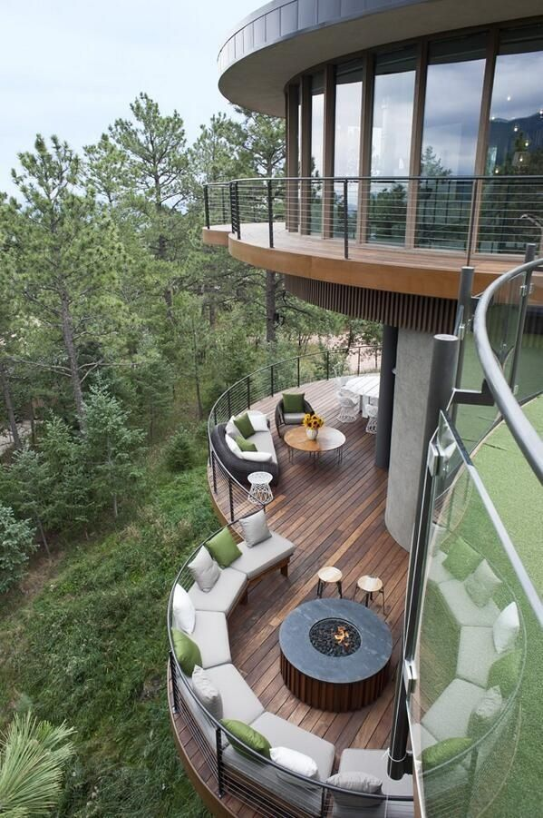 What A Gorgeous Design The Round House Colorado Springs