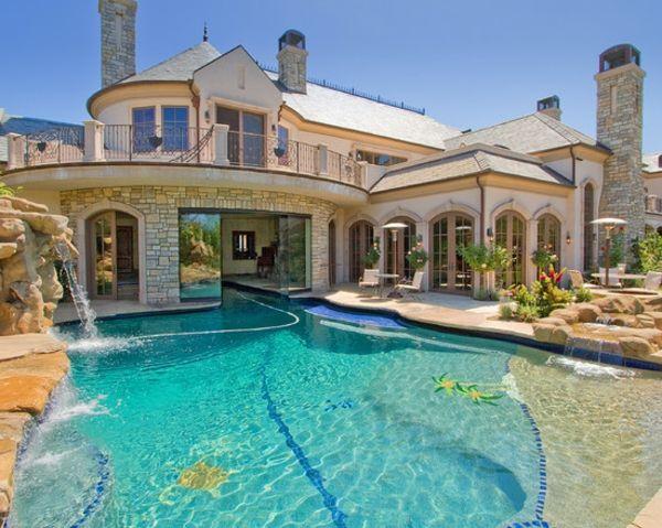 atemberaubender-swimmingpool-für-den-garten | schwimmpool, Garten und Bauten