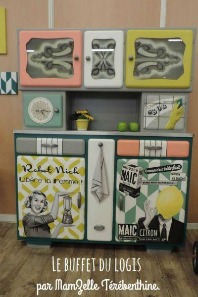 les 192 meilleures images du tableau meuble mado sur pinterest meuble mado meuble et relooker. Black Bedroom Furniture Sets. Home Design Ideas
