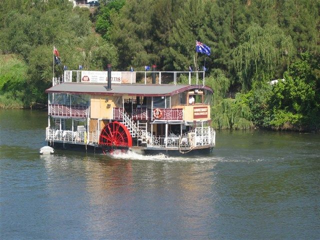 The Hawkesbury Paddlewheeler has been operating for many years now from historic Windsor, NSW, which is located at the end of the Windsor Road on one of the oldest waterways in Australia, the Hawkesbury River.