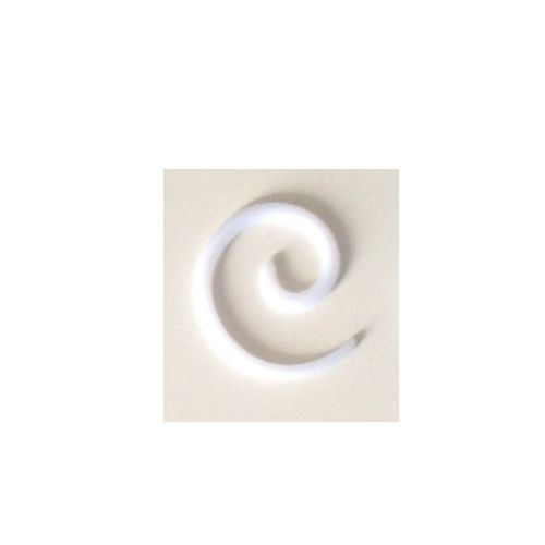 10 mm spiraal wit